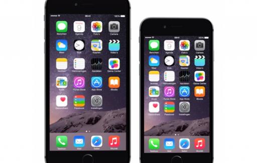 iPhone 6 Plus en iPhone 6