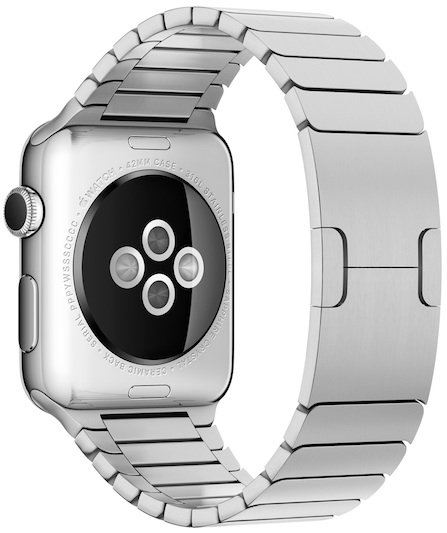apple watch met bandje