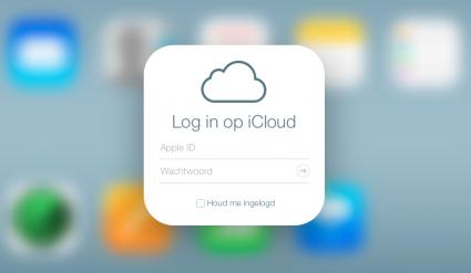 iCloud account login