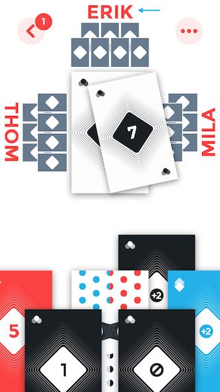 Golala kaartje leggen vier spelers
