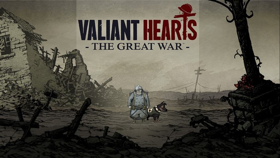 Valiant Hearts iPhone iPad introscherm