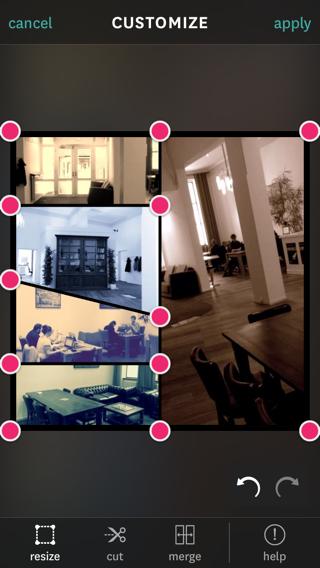 Fuzel Collage 3.0 fotolijstje aanpassen