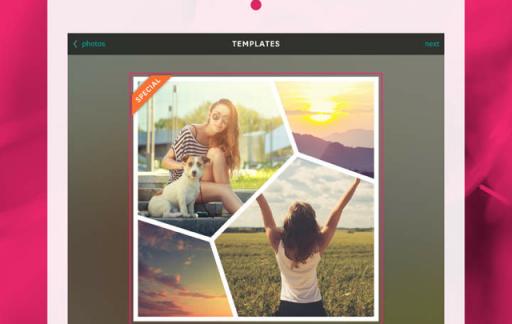 Fuzel Collage 3.0 ook voor iPad