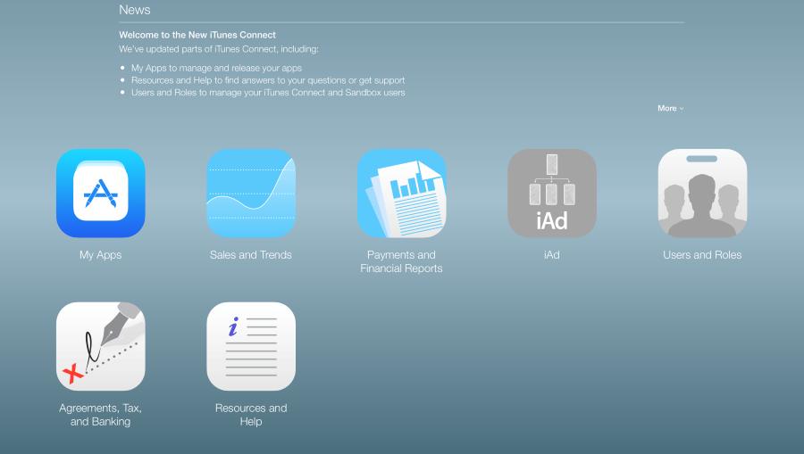iTunes Connect (Custom)