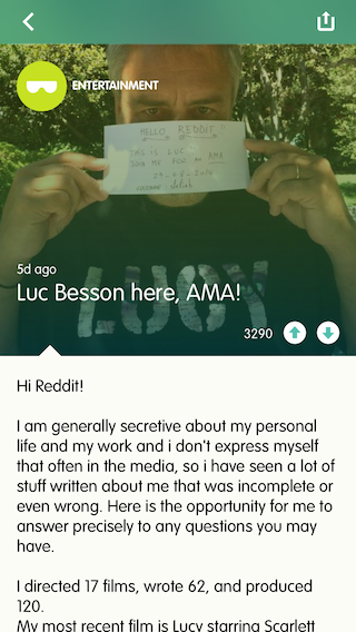 AMA Luc Besson interview