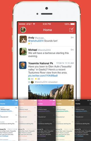 Aplos for Twitter app iPhone