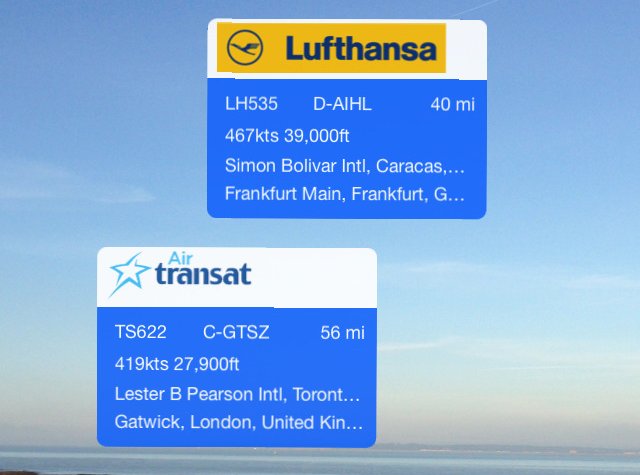 Plane Finder iPhone update iOS