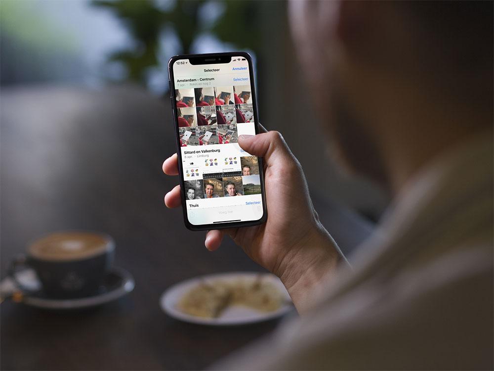 Foto's verwijderen van iPhone