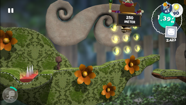 Run Sackboy Run review in het groen