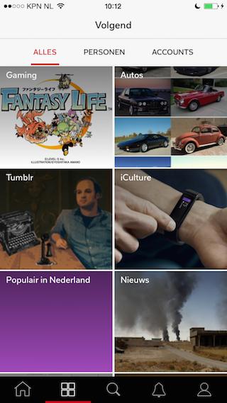 Flipboard 3.0 volgen