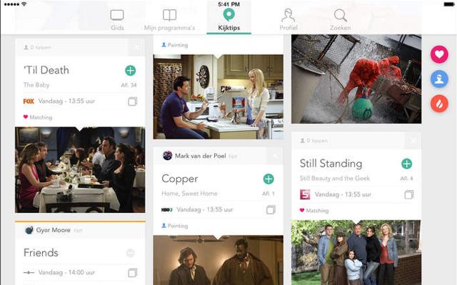 Pointers TV-Gids review iPad app kijktips