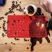Logitech Keys-To-Go keyboard iPad koffie
