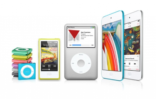 ipod line-up apple