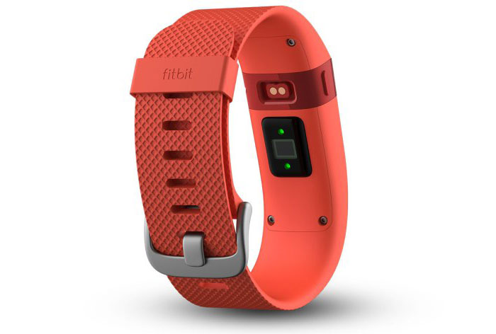 Fitbit Charge HR oranje