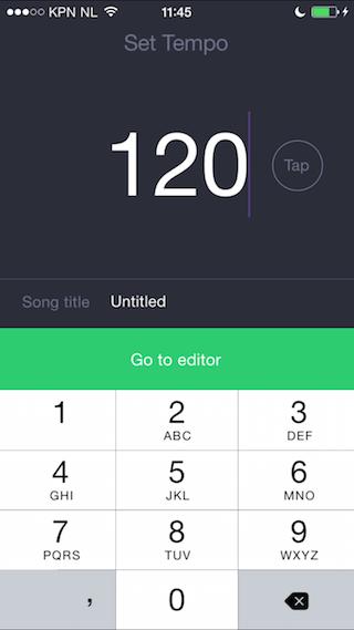 Composr samen muziek maken op iPhone opnemen