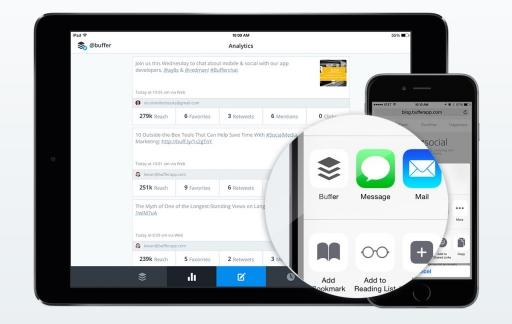 Buffer iPad iOS 8