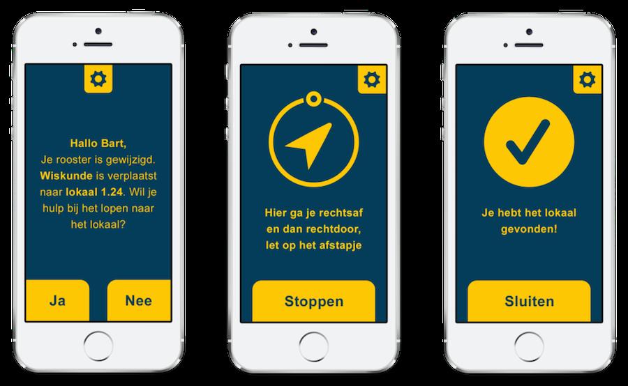 ViaVia iBeacons app