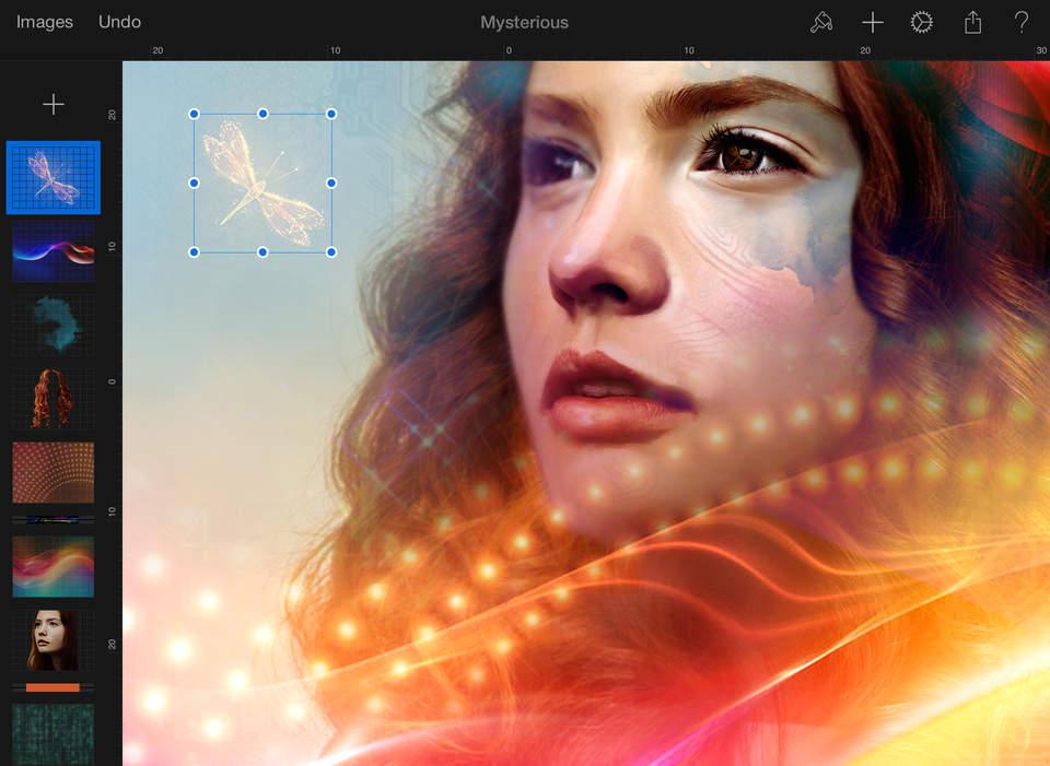 Pixelmator screenshot iPad 2