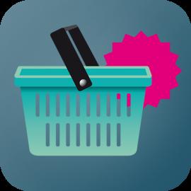 afgeprijsd app icoon