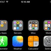 Onzichtbare app iconen iPhone 6