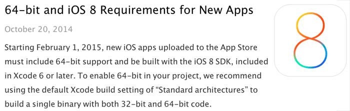 64-bit-ios-8-sdk-verplicht