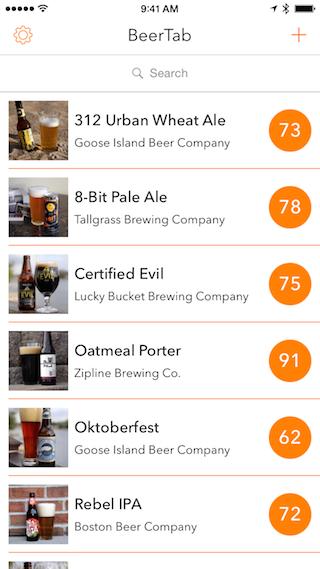 BeerTab review beoordelingen overzicht