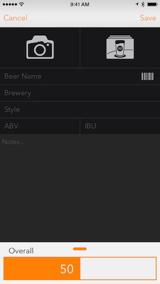 BeerTab review invulveld