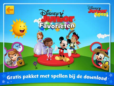 Disney Junior Speel iPad voorpagina