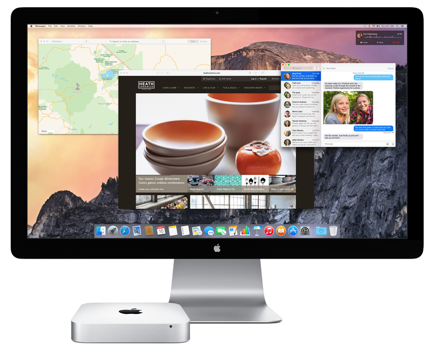 Mac mini 2014 scherm