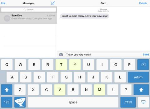 TextExpander review iPad toetsenbord
