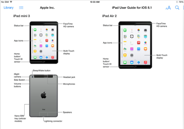 iPad Air 2 en iPad mini 3 640 breed