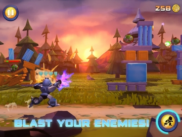 Angry Birds Transformers schieten