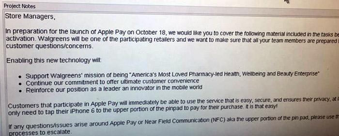 walgreens apple pay
