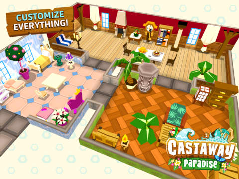 Paradise Review iPhone huis inrichten