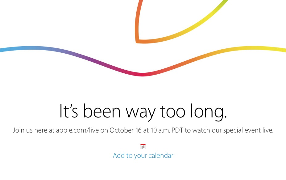 ipad event livestream oktober 2014