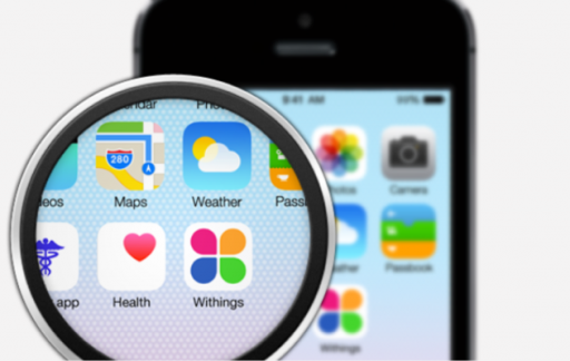 Withings Health Mate iOS 8 HEalth
