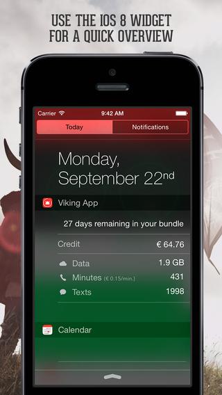 Mobile Vikings iPhone