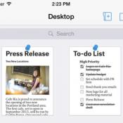 Quip iPhone iPad documenten en spreadsheets