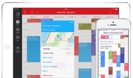Week Calendar iPhone iPad iOS 8 support
