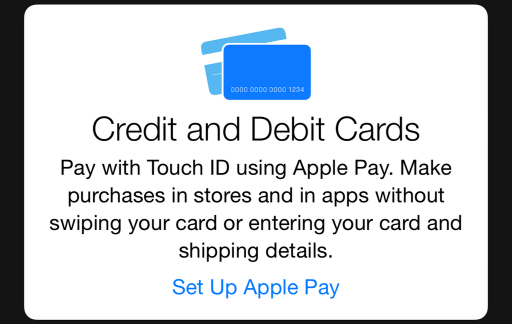 Apple Pay iOS 8.1 beta 2