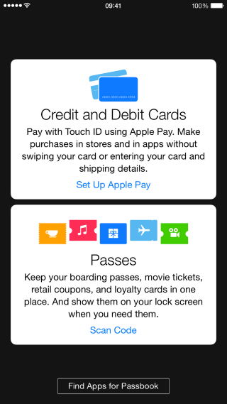 Apple Pay in Passbook (Custom)