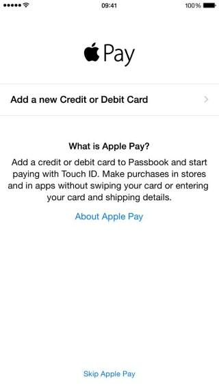 Apple Pay creditcard toevoegen (Custom)