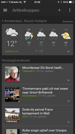 Google News & Weather 2