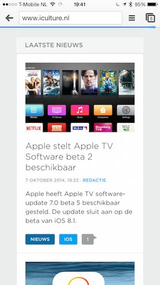 Chrome iPhone 6