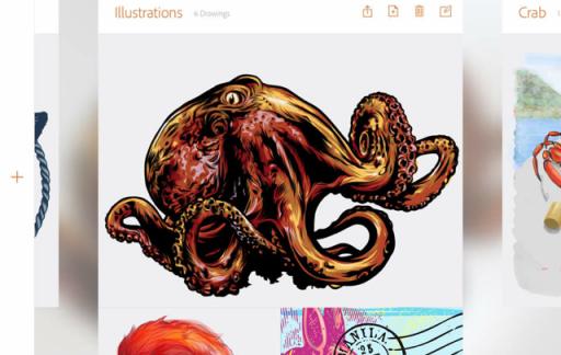 Adobe Illustrator Draw review sociaal netwerk