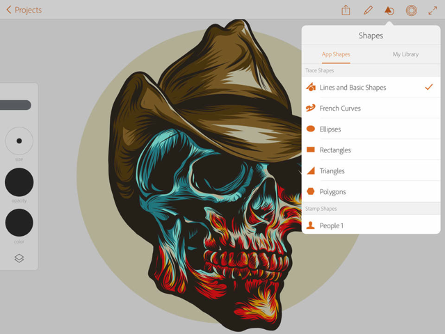Adobe Illustrator Draw review vormen