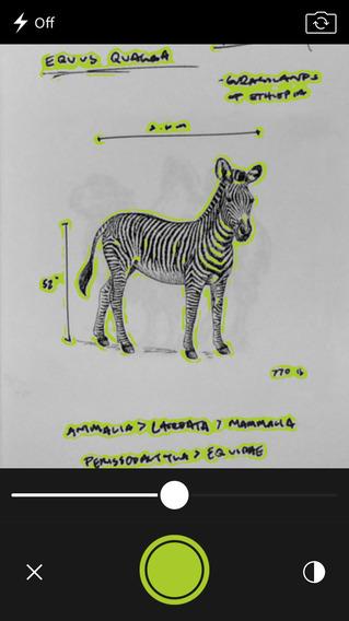 Adobe Shape CC review zebra tekening