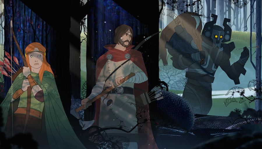 The Banner Saga art
