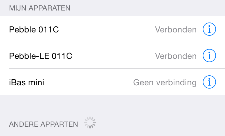 Bluetooth apparten