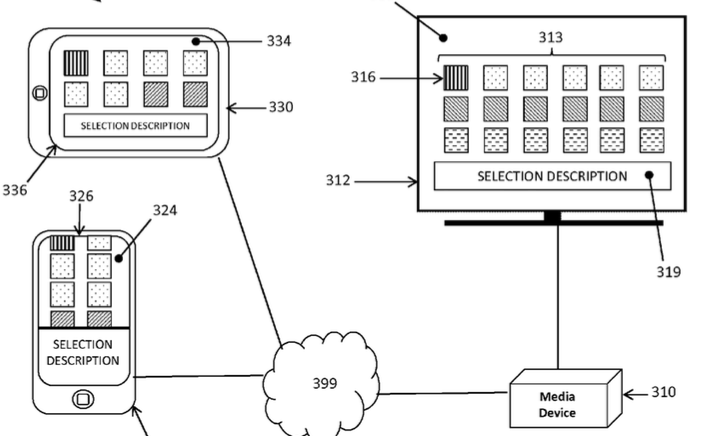 Apple TV remote patent 2